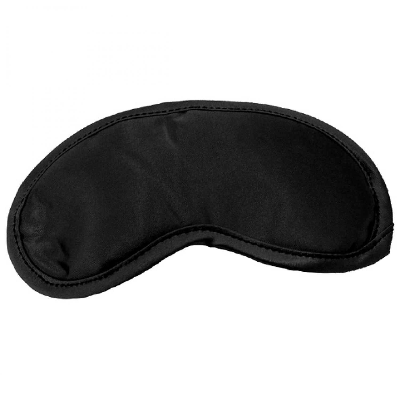 Μάσκα για Κλείσιμο των Ματιών από Σατέν Μαύρο Sex & Mischief SS10001