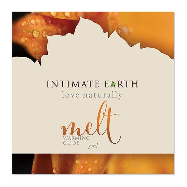 Θερμαντικό Λιπαντικό Glide Melt Φύλλο 3 ml Intimate Earth 6516