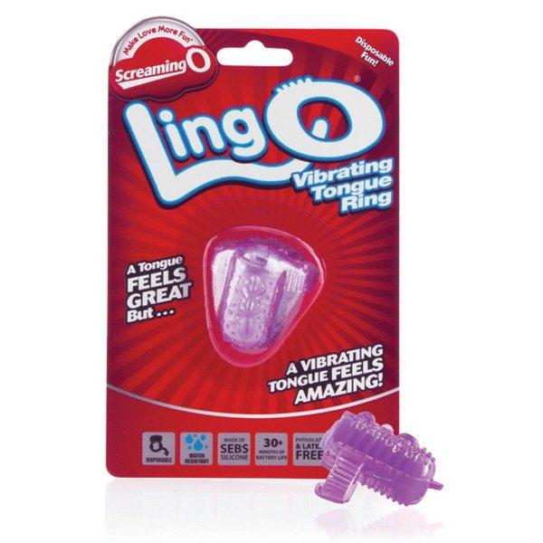 Δαχτυλίδι Δόνησης The LingO Μωβ The Screaming O SCLINGO