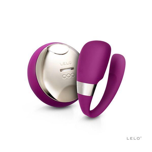 Συσκευή Δόνησης Tiani 3 Σκούρο Ροζ Lelo 8229
