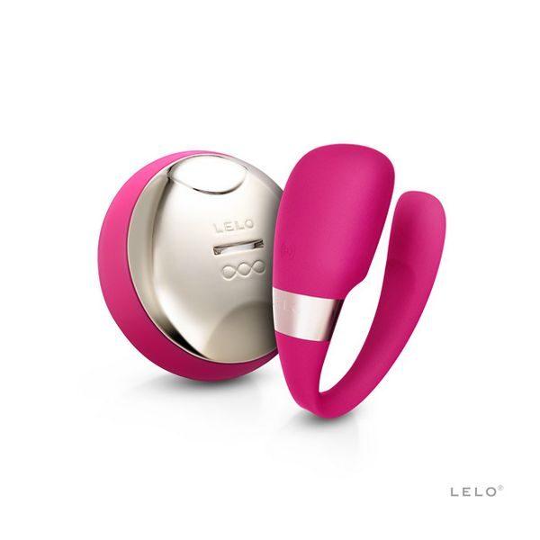 Συσκευή Δόνησης Tiani 3 Χρώματος Κερασί Lelo 9349