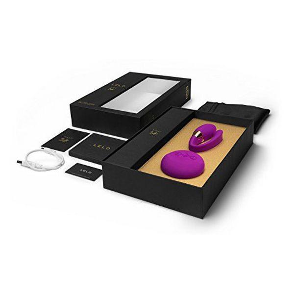 Συσκευή δόνησης Tiani 3  Χρυσή 24K Σκούρο Ροζ Lelo 3088