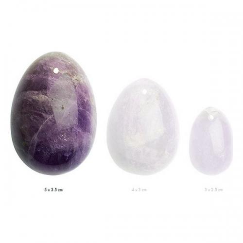 Αυγά Γιόνι La Gemmes Large 5cm x 3,5cm - Αμέθυστος - Μωβ