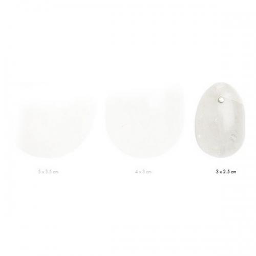 Αυγά Γιόνι La Gemmes Large 5cm x 3,5cm - Χαλαζίας - Διαφανές