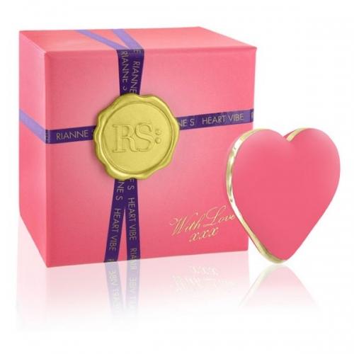 Συσκευή Δόνησης Icons Heart Vibe Κοραλί Ροζ Rianne S E26356