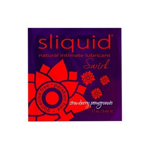 Λιπαντικό Swirl Pillow Φράουλα Ρόδι Naturals 5 ml Sliquid 883
