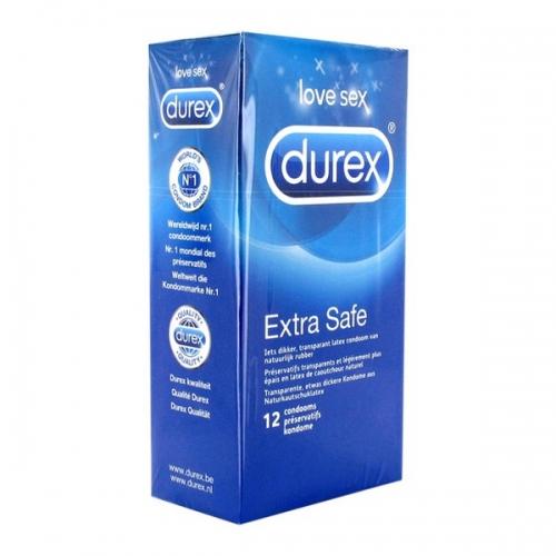 Εxtra SafeΠροφυλακτικά 12 τεμ Durex 7465