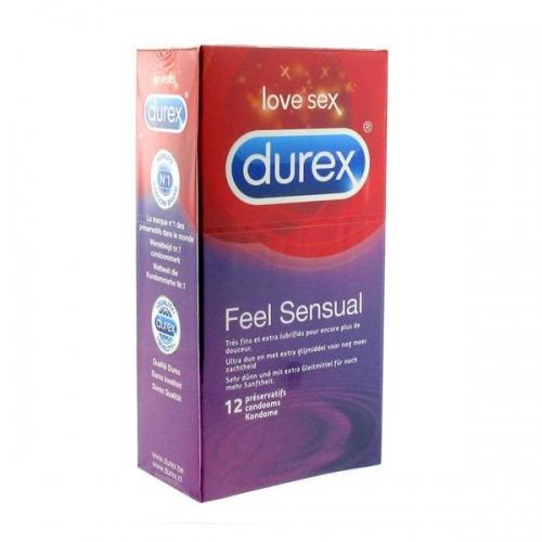 Feel Sensual Προφυλακτικά 12 τεμ Durex E20298