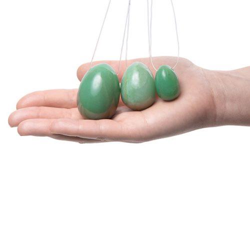 Αυγά Γιόνι La Gemmes (3 pcs) - Νεφρίτης - Πράσινο